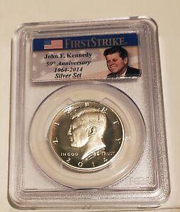 2014-P Silver Kennedy Half Dollar PCGS PR70 DCAM