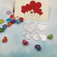 Flower Animal Series Metal Cutting Dies Stencil DIY Scrapbooking Card Craft I0Y8