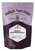 Indigo Herbs Organic Muesli 500g - 1kg 100% Organic Ingredients