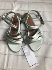 Marni Satin Sandals Size 36 UK3 RRP£480