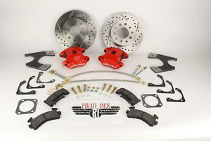 Universal GM 10/12 Bolt Rear Disc Conversion w/ Wilwood Calipers