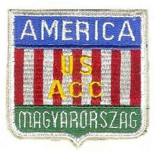 US ARMY WWII HUNGARIAN OCCUPATION FORCES PATCH (REPRODUCTION)