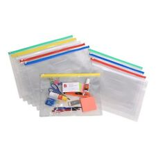 5 Pack Marbig Clear Case A4 335x245mm Assorted Colours – AA9008099