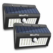 2X45 Solar LED Light Outdoor Garden Waterproof Wireless Security Motion 3 Modes