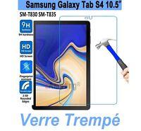 Vitre De Protection Écran Film Verre Trempe Samsung Galaxy Tab S4 10.5 T830/T835