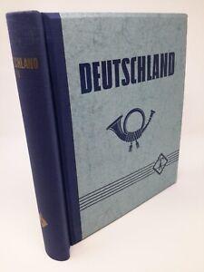 LEUCHTTURM Klemmbinder mit Aufdruck Deutschland gebraucht (Z1376)
