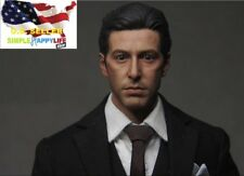 1/6 Michael Corleone Head Sculpt the Godfather Al Pacino for hot toys ❶USA❶