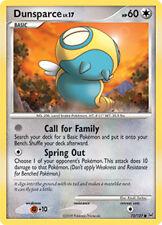 Dunsparce Common Pokemon Card Pt1 Platinum 73/127
