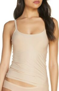 NEW CHANTELLE 'Soft Stretch Padded' Camisole Ultra Nude Size M/L $68