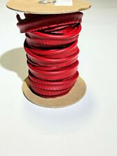 Lobster Red Marine Vinyl Welt Cord Piping Outdoor Automotive Upholstery Bty