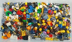 large 8oz (1/2 pound) LEGO MINIFIGURE lot mixed figures accessories weapons lotA