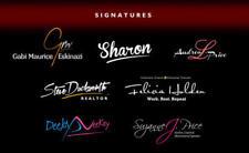 I will design a killer, high quality, effective and custom made logo signature