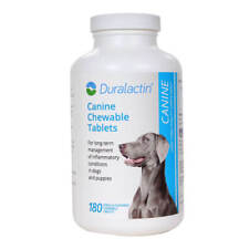 New listing Duralactin Canine Chewable Tablets, 180 ct