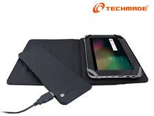 Custodia universale a Libro Book per tablet 7'' batteria aggiuntiva da 4000 mAh