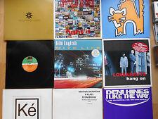 """12"""" - VINYL-MAXI-pacchetto no. 1: 40 Dance-Vocal House 12""""maxis (e.g. Promos) of the 90s"""