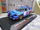 SUBARU Impreza WRC Charbonnieres F 2002 #1 Rousselot Axe Motul IXO Altaya 1:43