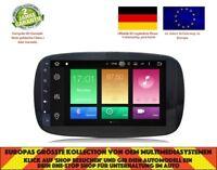 AUTORADIO DVD GPS NAVI ANDROID 8.0 4GB BT DAB MERCEDES BENZ SMART 2015+ BNZ-9516