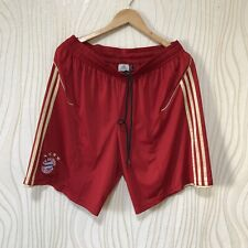 BAYERN MUNICH 2011 2012 HOME FOOTBALL SOCCER SHORTS ADIDAS V13482