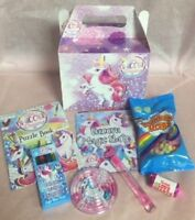 8 Piece Mermaids Kid/'s Children/'s Ready Made Pre Filled Party Gift Favour Box