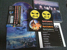 IRON MAIDEN / brave new world /JAPAN LTD OBI sticker