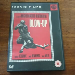 Blow-Up DVD Vanessa Redgrave R2 VERY GOOD – FREE POST