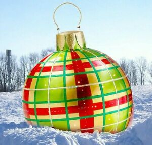 New Christmas Balls Tree Outdoor Home Decorations Atmosphere Inflatable Toys.