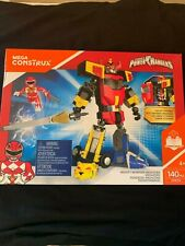 Mega Construx Power Rangers Mighty Morphin Megazord 140 pc Set Ages 4+