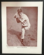 1943 M114 Baseball Magazine Poster Dick Wakefield Detroit Tigers