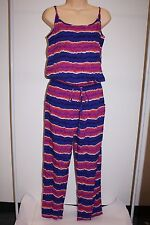 NWT Tommy Bahama Swimsuit Cover Up Romper Spaghetti Long Sz XL Paint Stripe