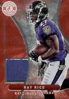 2012 Totally Certified Platinum Red Materials /299 Ray Rice #7 Baltimore Ravens