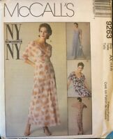 McCall's NY Collection Misses' Dress and Slip Pattern 9263 Size 4-8 UNCUT