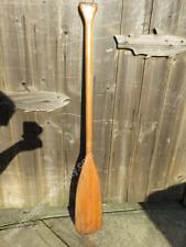 47+½ inch Painted Wood Boat Oar -(X448)