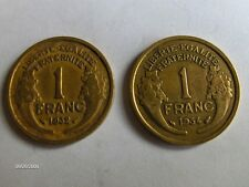 LOT 1 FRANC 1932 - 1934