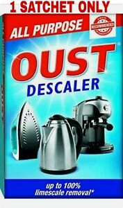 OUST All Purpose Descaler For Coffee, Kettle, Iron, Limescale Remover & Cleaner