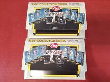 2 SETS MLB BASEBALL CARDS 1995 COLLECTOR SERIES - COMPLETE 16 CARDS by POST