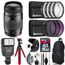 Tamron 70-300mm Lens for Nikon + Flash +  Tripod & More - 16GB Accessory Kit