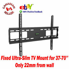 "37"" to 70"" LCD PLASMA LED TV FIXED WALL MOUNT BRACKET 40,42,46,47,50,52,55,60,65"