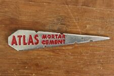 Vintage Atlas Cement Mortar String Line Pin Tool Gauge