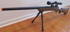 Well VSR-10 Bolt Action Airsoft Sniper Rifle w/3-9X40 Metal Scope & Bi-Pod