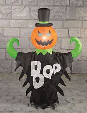 1.2M INFLATABLE HALLOWEEN GHOST PUMPKIN LIGHT UP SHOP DISPLAY PROP DECORATION BN
