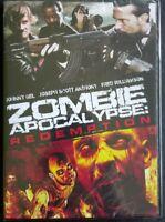 Zombie Apocalypse Redemption (DVD 2011 Wide-screen) Brand New Sealed