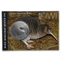 1 Oz Silber Kiwi One Dollar Neuseeland 2018 31.1g .999 im Blister