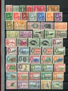 VIRGIN ISLANDS + ROSS M&U COLLECTION 140 Stamps
