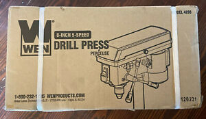 Table Top Drill Press WEN 4208 8-Inch 5 Speed Electric Machine Workbench Stand