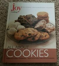 ALL ABOUT COOKIES COOKBOOK Irma S Rombauer Becker JOY OF COOKING 2002 Illustrate
