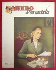 Mundo Peronista Magazine Nº79 Eva Peron Evita Cover 1955