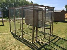 Large Animal Run 6ft x 9ft with mesh roof Dog, Rabbit, Chicken pet pen Enclosure