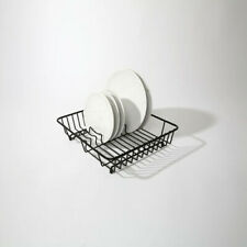 More details for delfinware wireware black popular dish drainer