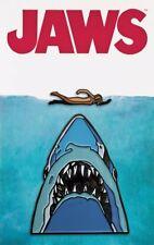 Midnight Swim 2 Pin Set Jaws Movie Lapel Enamel Mondo Exclusive