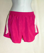 Imagin8 Women's Sport Shorts Size Medium Pink with white Mesh Inset on sides NEW